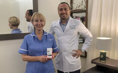 First Esketamine nasal spray session in the UK private sector